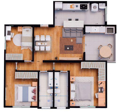 Apartamentos financiados - Foto 10