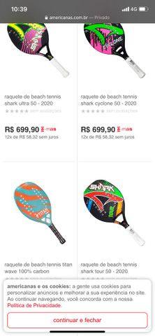 Raquete Beach Tênis  - Foto 3
