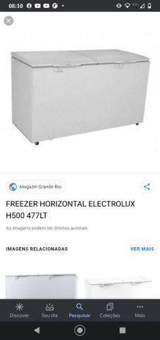 Vendo frizzer electrolux novo na caixa - Foto 2