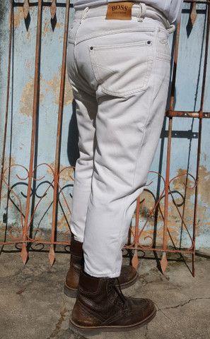 Calça Jeans Hugo Boss fabricado na Alemanha - Foto 5