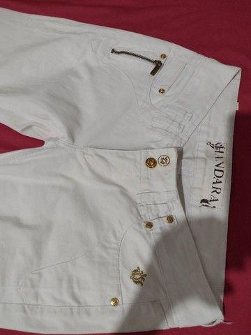 Calça jeans da handara, tam.42, cintura normal. Some nova - Foto 4