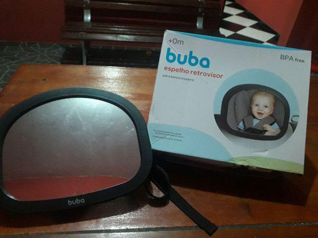 Espelho retrovisor para banco traseiro, de bebê  - Foto 2