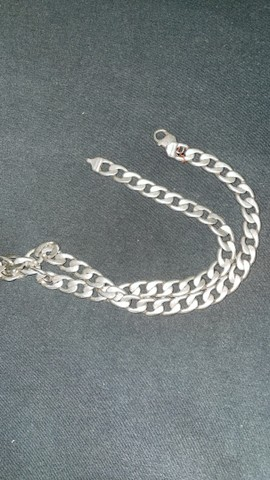 Cordão de prata 100 gramas - Foto 3