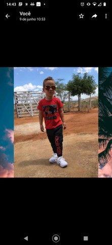 Conjuntos infantis estilo moletom - Foto 2