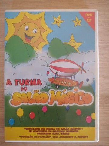 DVD e CD A turma do balão mágico