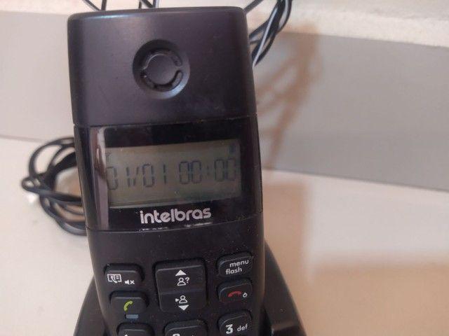 Telefone móvel Intelbras com identificador de chamadas - Foto 3
