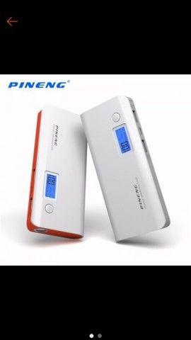 Carregador Portátil Power Bank 10000 mAh Pineng 100% original pesado