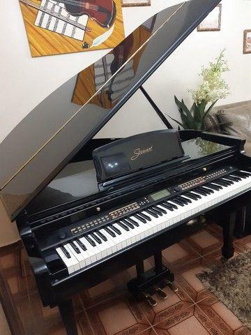 Piano 1/4 de calda ,eletrônico valor 22.500 - Foto 4