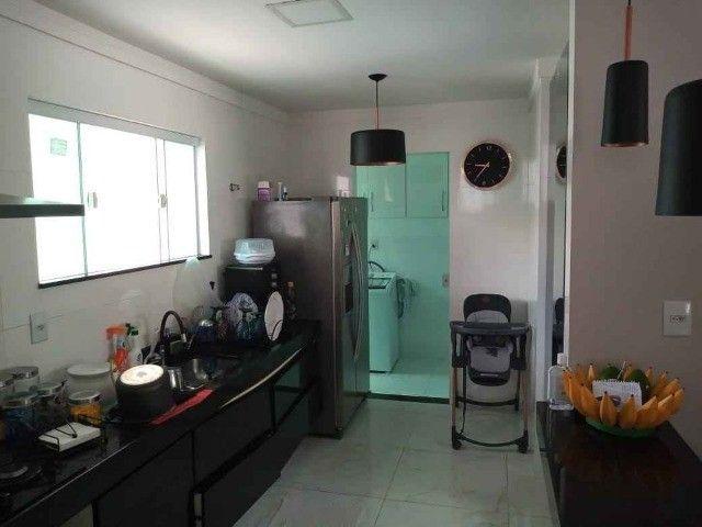 Duplex com 04 quartos, piscina, churrasqueira em condomínio no centro de São Pedro - Foto 6