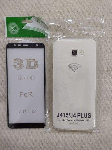 Película de vidro 3D para celular e capa - Foto 3
