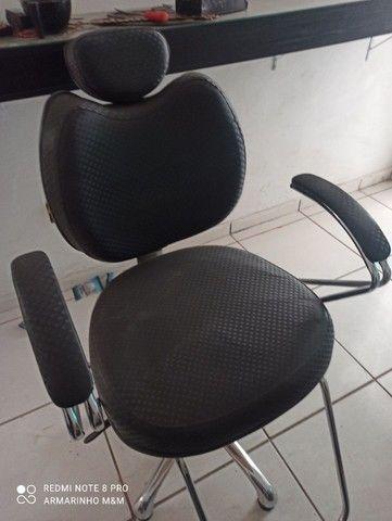 Cadeira cabeleireira