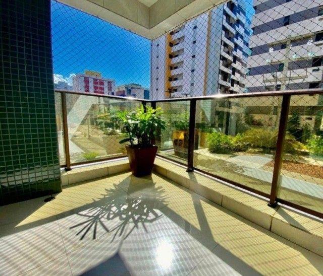 Apartamento com 3/4 + DCE, nascente - 140m² - Foto 3