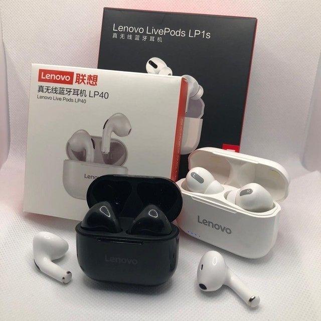 Fone bluetooth Lenovo LP1S tws (LivePods)-siri-redução de ruído-9.0 - Foto 6