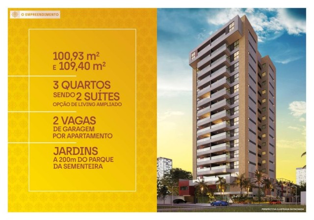 Apartamento à venda, RAVELLO RESIDENCE no Jardim Europa Aracaju SE - Foto 2