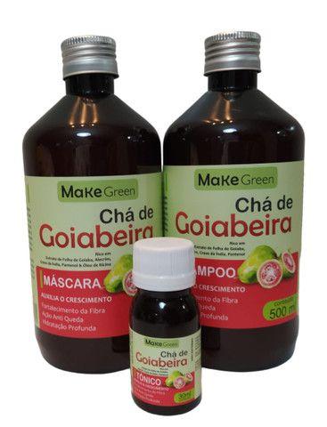 Chá de Goiabeira, shampoo pra fortalecer  - Foto 3