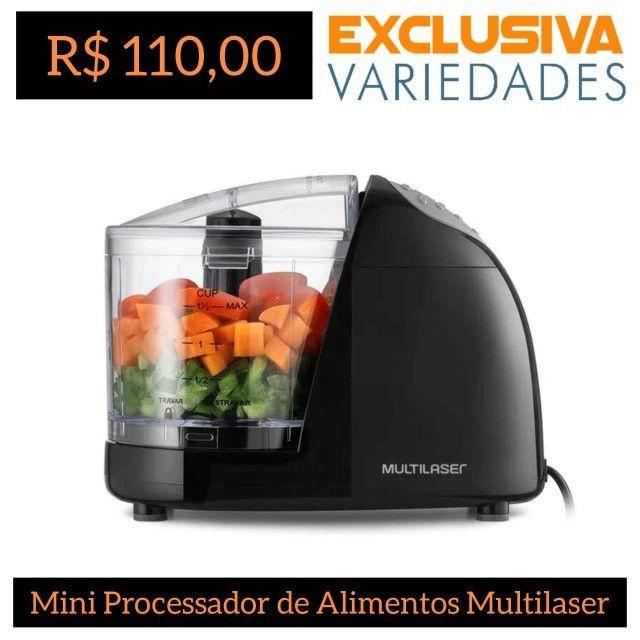 Mini Processador de Alimentos Elétrico 220v Multilaser