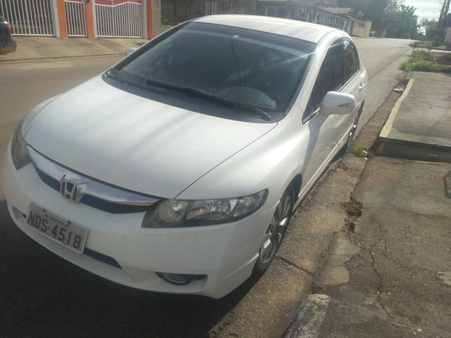 Honda Civic 2011, excelente estado de conservação aceito troca