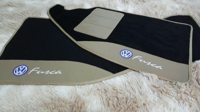 Tapetes automotivos fusca personalizados