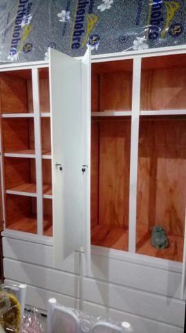 Guarda roupa madeira desmontável novo 10x 140,00