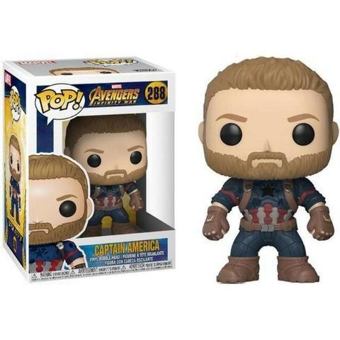 Funko Pop! Avengers: Infinity War - Captain America #288 - Foto 2
