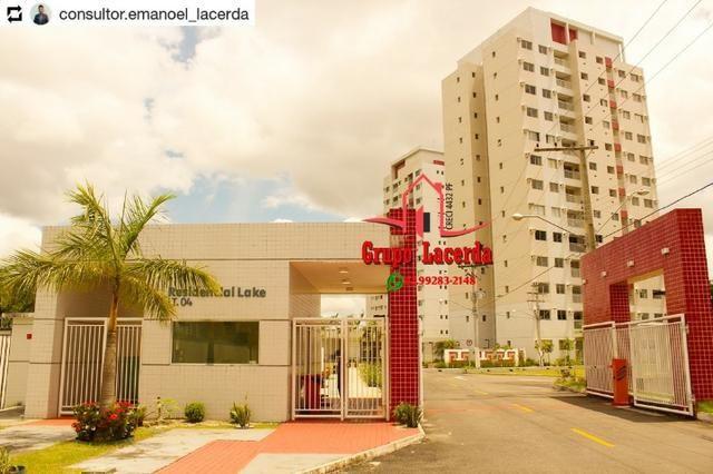 Paradise Lake Apartamento Novo - 3 Quartos/Suíte 2 vagas - Bairro do Pedro