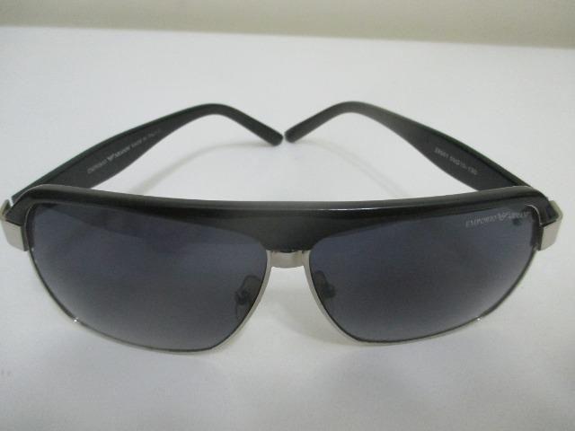 763fdf1fa Óculos de sol Emporio Armani italiano antigo peça vintage anos 1980 - Foto 2