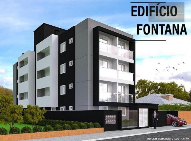 Apartamento com 2 dormitórios à venda, 48 m² por R$ 195.000 - Bom Retiro - Joinville/SC