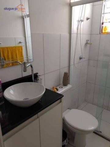 Lindo apartamento com 2 dormitórios à venda, 47 m² por r$ 195.000 - palmeiras de são josé  - Foto 9