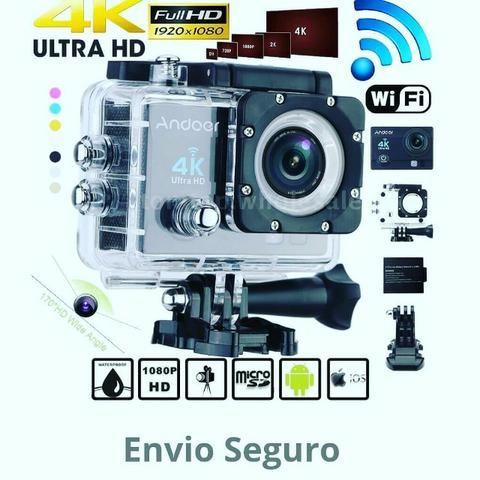 26be4be6c2 Câmera Action Go WiFi 4K Nova na Caixa - Áudio, TV, vídeo e ...