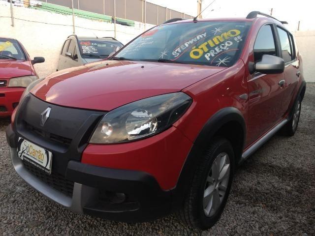 Renault sandero stepway 2012 completo financio e aceito trocas - Foto 2