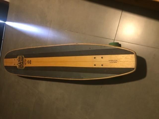Skate surf no asfalto drop boards