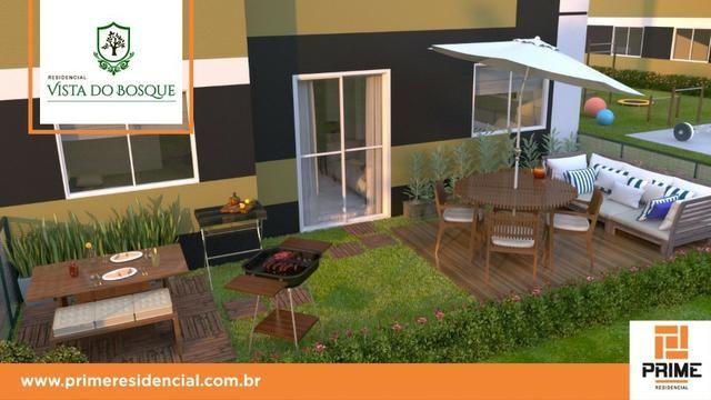 Ap de 2 quartos com suite reversível e quintal, Mario Covas- Vista do Bosque - Foto 7
