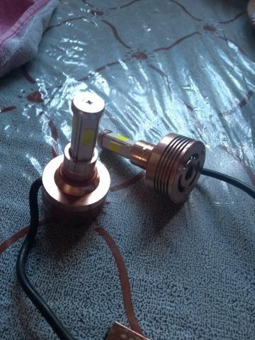 Vendo lâmpadas H4 de led 6000 k - Foto 2