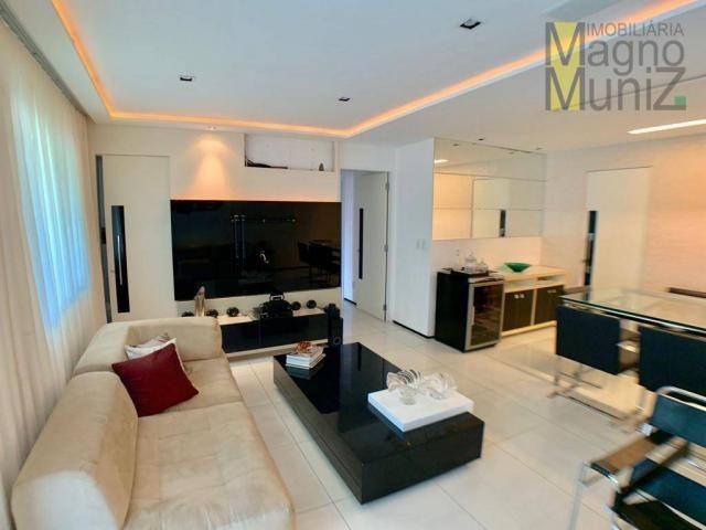 Apartamento com 3 dormitórios à venda por r$ 700.000,00 - cocó - fortaleza/ce - Foto 16