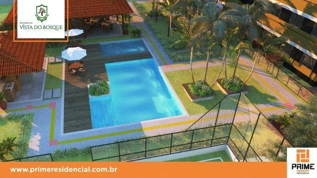 Ap de 2 quartos com suite reversível e quintal, Mario Covas- Vista do Bosque - Foto 14