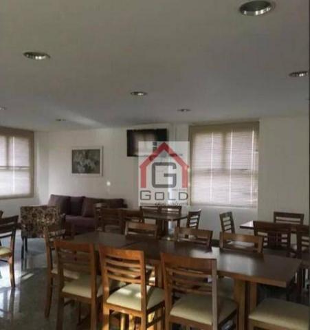 Apartamento para alugar, 195 m² por R$ 3.420,00/mês - Santa Paula - São Caetano do Sul/SP