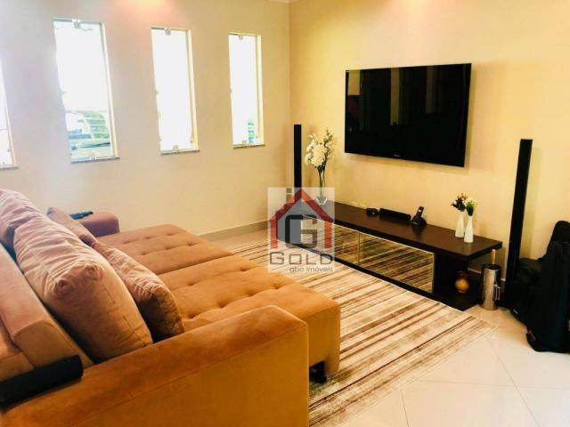 Sobrado com 3 dormitórios à venda, 195 m² por R$ 850.000 - Parque das Nações - Santo André - Foto 4