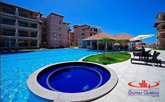 Apartamento com 2 dormitórios à venda, 68 m² por R$ 450.000,00 - Porto das Dunas - Aquiraz - Foto 4