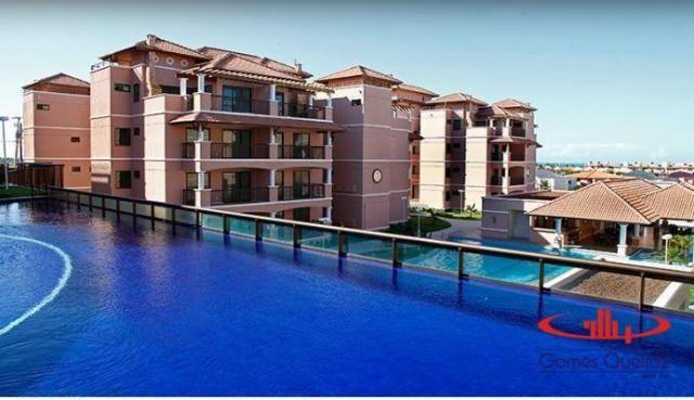 Apartamento com 2 dormitórios à venda, 68 m² por R$ 450.000,00 - Porto das Dunas - Aquiraz - Foto 3