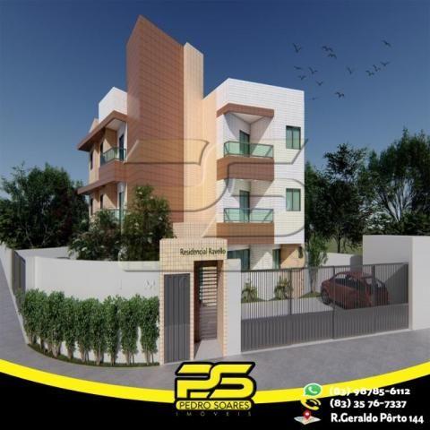 Apartamento com 2 dormitórios à venda, 47 m² por R$ 165.000 - Castelo Branco - João Pessoa - Foto 2