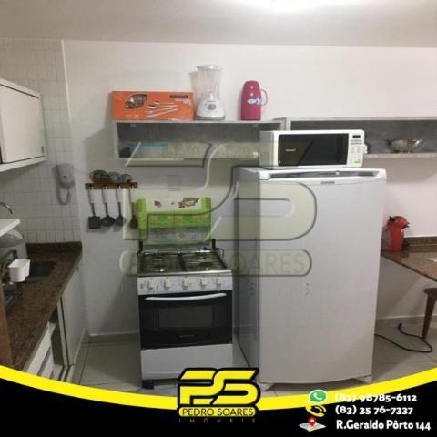 Flat com 1 dormitório para alugar, 1 m² por R$ 2.200,00/mês - Tambaú - João Pessoa/PB - Foto 10