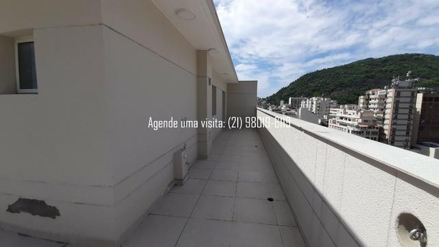 Cobertura linear em Botafogo, no You, Real Grandeza, 156m, 3 quartos, vista Cristo - Foto 4