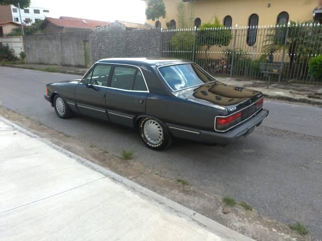 Opala diplomata 1988 completo carro placa preta leia discrição - Foto 3