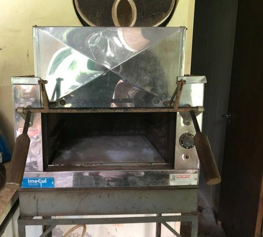 Forno de pedra refratária elétrico para pizza - Foto 2