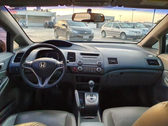 Honda New Civic LXL Flex - Automático + Borboletas - Abaixo da Fipe - Foto 9