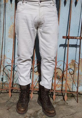 Calça Jeans Hugo Boss fabricado na Alemanha - Foto 4