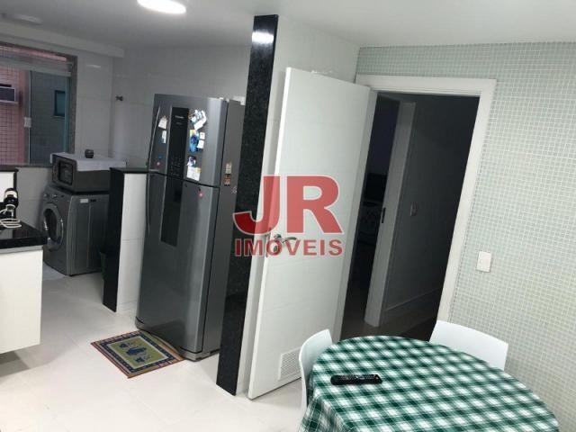 Excelente apartamento de alto padrão 4 suítes, decorado e mobiliado. Passagem-Cabo Frio-RJ - Foto 8