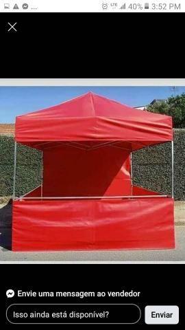 Tenda sanfonada com garantia e velcro grátis - Foto 2