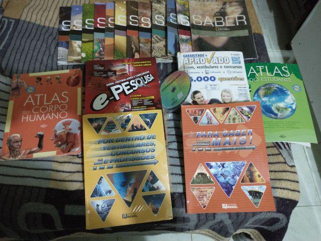 Quites de livros para concurso vestibulares e Enem
