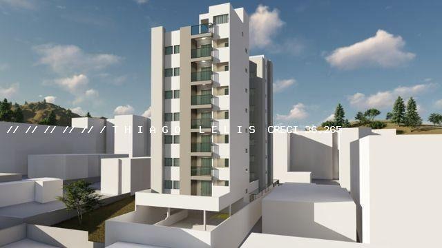 Bairro Bandeirantes lançamento lindo apartamento de 2 quartos suíte varanda elevador